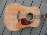 Suzuki Japan. SDG-100 Solid Sitka spruce and rosewood back and sides. OHSC.
