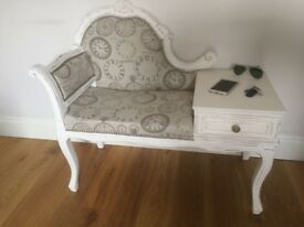 Telephone bench, hall, seat,