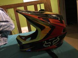 Fox carbon rampage fullface helmet