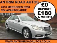 2010 MERCEDES E250 CDI AVANTGUARDE ** FINANCE AVAILABLE WITH NO DEPOSIT