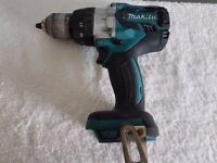 """MAKITA DHP481 18v """"BRUSHLESS LXT LI-ION COMBI DRILL """"STAR"""" BODY ONLY.""""USED"""" TOP OF THE RANGE, 125 Nm"""