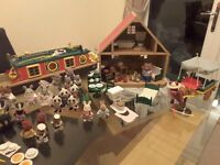 Sylvanian Families 1990s Toy Collection