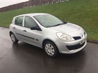 2007 RENAULT CLIO 1.2 # # NEW MODEL # # GENUINE LOW MILES 62.000 ## FULL YEARS M.O.T # #