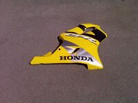HONDA CBR600F SIDE FAIRING IN YELLOW
