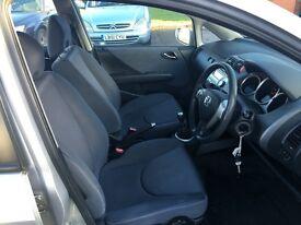 2007 Honda JAZZ Aircon Heated Mirror Remote Keys Alloys 1 Year Mot Powr Mirrors Full Service Histroy