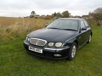 2000 Rover 75 Classic CDT SE 2.0 Diesel with long MOT and service history.
