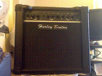 Harley Benton 15 watt with GFX