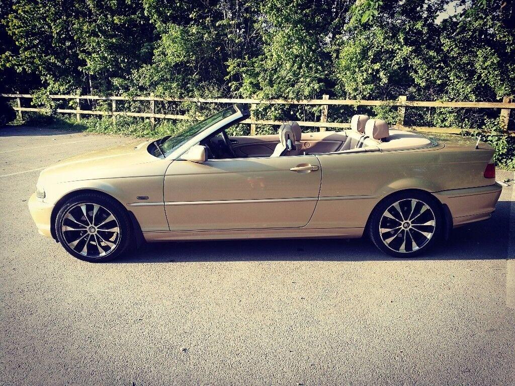 Stunning BMW 3 series convertible. Low mileage, long MOT