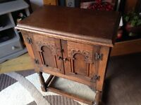 Old charm/priory small cupboard