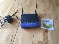 Linksys wireless-g access point with SES
