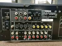 Yamaha RX-V595aRDS 5.1 DTS Cinema Surround Amplifier