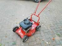 """Sabre 19"""" Petrol Lawnmower."""