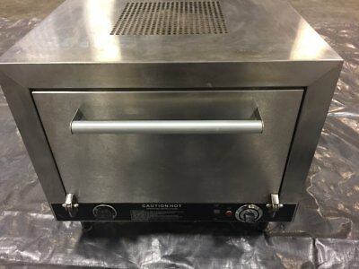 "Nemco 6205-240 Pizza Oven Electric Counter Top Double 19"" Stone Deck 240v"