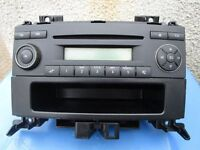 Mercedes Sprinter Radio/CD player w/pocket