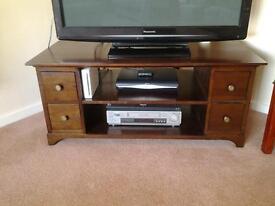 Dark wood coffee/ TV table