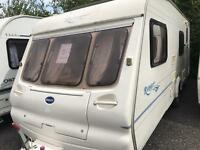 Bailey ranger 550/6 2004 6 berth with motor mover touring caravan