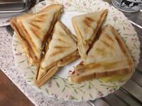 Fresh tasty home made sandwiches for sale