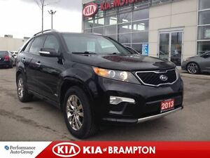 2013 Kia Sorento SX SEVEN PASSENGER NAVIGATION LEATHER LOADED!!