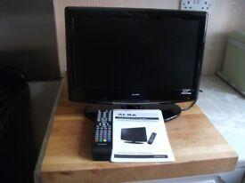 TV / ALBA 16 inch HD Digital LCD/DVD Combi
