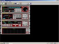 Icom IC-PCR1000 Receiver, Scanner, All-mode, HF, VHF, UHF, P.C Controlled.