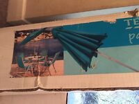 Blue Parasol. Brand new never used.