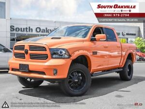2015 Ram 1500 IGNITION ORANGE | LIFTED | PRO COMP OVER SIZED TIR