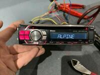 Alpine CDE-113BT head unit