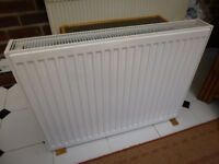 Double radiator, White, excellent condition 600 x 800 cm