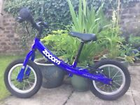 Zoom balance bike, excellent condition