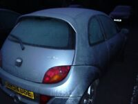 ford ka 1.6 sport.m.o.t serviced .new sills for mot and front tyres,wheel bearing replaced on front