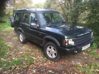 Land Rover Discovery TD5 GS Dark Green 7 Seater manual