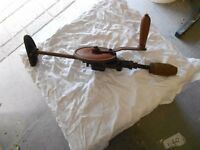 Antique Hand Drill For Sale