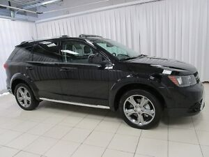 2017 Dodge Journey CROSSROAD 7PASS SUV w/ DVD, NAVIGATION, SUNRO