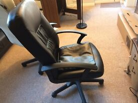 Office chairs - very comfortable - two