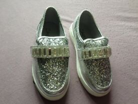 Girls *Bling* Loafers size 12