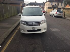 *NISSAN SERENA ONE *6 MONTHS WARRANTY AND MOT * LOW MILEAGE* FULLY SERVICED ONLY £9999