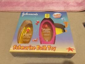 Johnson shampoo with toys