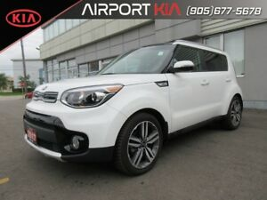2017 Kia Soul EX Premium DEMO/ Leather/Sunroof / Winter Tires