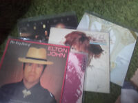 joblot of elton vinyl