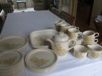 "M&S ""Field Flowers"" Dinner & Tea Set/Service - 50 pieces - Oven to Tableware"