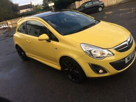 Limited Edition Vauxhall Corsa 1.2 low mileage!