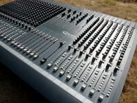 Soundcraft Ghost Mixing Console 24/8 with Cable and Power Supply