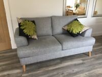 Marks & Spencer's grey sofa
