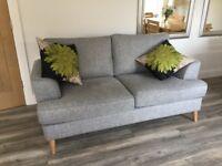 Marks & Spencer's grey sofa