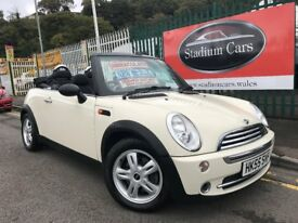 2006 (55 reg) MINI Convertible 1.6 One 2dr Petrol Convertible 5 Speed Manual