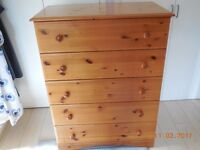 Hygena bedroom furniture, wardrobes, bedside chests, chest of drawers, dressing table