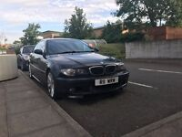 URGENT SALE! OF BMW 3CI Coupe 325 MSport Black Touch Screen, Leather, Private Number Plate, 2003.