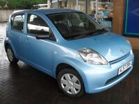 DAIHATSU SIRION 1.OS 5 DOOR ONE OWNER WITH LOW LOW MILEAGE