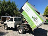Land rover defender chipbox tipper - NO VAT
