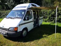 Ford transit, camper, automatic, 2.0 petrol hot water, heating, drives like New